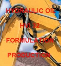 HYDRAULIC OIL HVI 32 FORMULATION AND PRODUCTION PROCESS