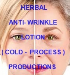 Herbal Anti - Wrinkle Lotion ( Cold - Process ) Formulation And Production