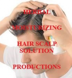 Herbal Moisturizing Hair Scalp Lotion Formulation And Production