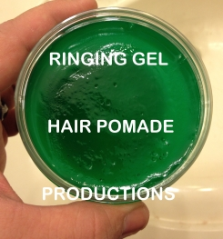 Ringing Gel Hair Pomade Formulation And Production