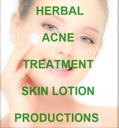 Herbal Acne Treatment Skin Lotion Formulation And Production
