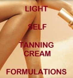 Light Self Tanning Cream Formulation And Production