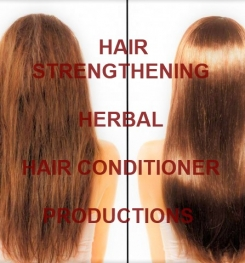 Hair Strengthening Herbal Hair Conditioner Formulation And Production