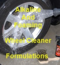 Alkaline And Foaming Car Wheel Cleaner And Polisher Formulations And Production Process