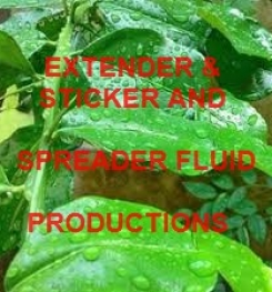EXTENDER - STICKER AND SPREADER FLUID IN AGRICULTURAL FORMULAS AND MANUFACTURING PROCESSES